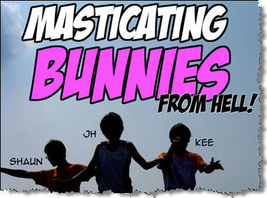 masticating Bunnies from Hell